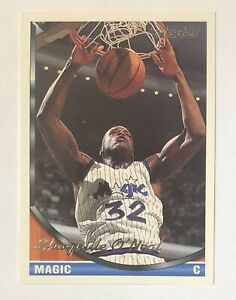 Shaquille O'Neal 1993-94 Topps Gold ToppsGold Card #181