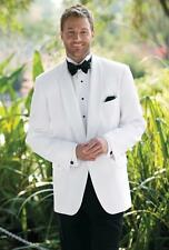 New White Groom suit Jacket black pants Best Men Groomsmen Tuxedo Wedding Suits
