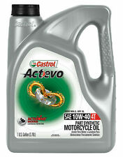 Castrol Actevo 4T Synthetic Blend Motorcycle Oil - 10W40 - 1 Gallon