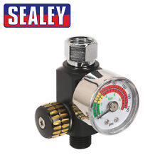 Sealey AR01 On-gun Air Pressure Regulator/Gauge Spray