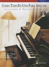 Alfred's Basic Adult Piano Course: Curso Todo-En-uno para Adultos, Nivel 2 :...