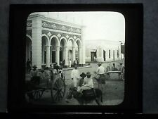 VINTAGE COLLECTIBLE GLASS PICTURE NEGATIVE Fine Residence Barranquilla Colombia