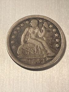 1853-O 10C Liberty Seated Dime, Arrows at Date
