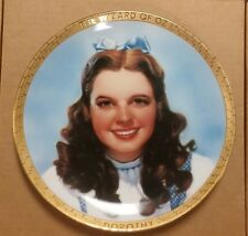 Portraits from Oz The Wizard Of Oz Collection Plate Dorothy w/Coa