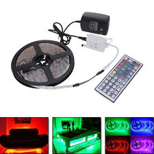 12V 5M Flexible Waterproof RGB LED Self Adhesive Strip Light + IR Controller