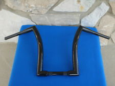 "16"" BLACK DNA MONSTER FAT APE HANGER BARS 1-1/2"" HARLEY HANDLEBARS"