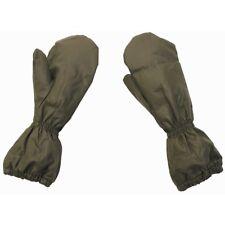 ORIG. ejército suizo sobre desenfunda guantes frío protección manoplas verde oliva talla 10 XL