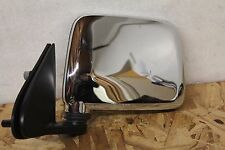 V1252  1998 - 2004 Nissan Frontier Mirror Manual Chrome LH Left Driver Side OEM