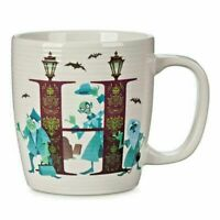 Disney Parks H is for HAUNTED MANSION Mug Cup ABC Collection New in Hand