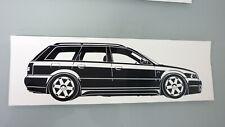 Audi S4 Avant Audi A4 Quattro Audi S4 B5 Aufkleber/2x Sticker schwarz neu