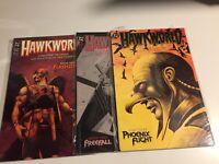 "1989~DC Comics~""Hawkworld"" Prestige Editions TPB 1,2,&3 Full Set~NM!"
