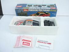 Schuco (Asahi) 1:20 Porsche 924 Turbo Plastic/Radio Control Near M BOX RARE