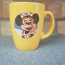 ESSO Disney Minnie Mouse Mug yellow Disneyland vintage merchandise