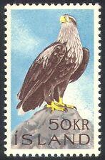 Islandia 1966 Sea Eagle/Aves/Raptors/Naturaleza/Vida Salvaje/Las Águilas 1v (n32707)