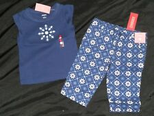 Gymboree SANTORINI SWEETIE Shirt Top Capri Pants Lot 4