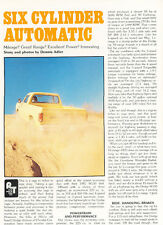 1981 Dodge W150 Ram - Road Test Classic Truck Original Print Article J107