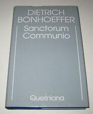 Edizione critica delle opere di D. Bonhoeffer - SANCTORUM COMMUNIO - Queriniana