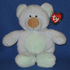 BLUEBEARY the BEAR - TY PLUFFIES - MINT with TAG (PRICE STICKER) - SEE PICS