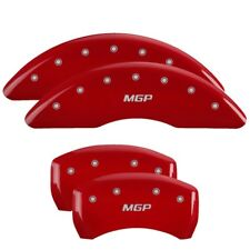 MGP Caliper Covers Engraved Front & Rear For BMW E9X 335/X1 Red