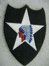 /US Army Patch 2nd Infantry Division,1940s