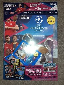Topps Starter Pack Football Official Sticker Collection