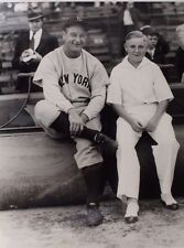 Lou Gehrig New York Yankees George Brace 11x14 Reprint Photo at Comiskey Park