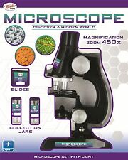 Toyrific Laboratorio di Scienze Microscopio ingrandimento Bambini Kids Junior 23 PCE età 8+