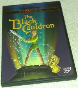The Black Cauldron DVD Gold Collection Edition Disney oop