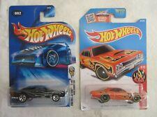 Hot Wheels 1969 Dodge Cargador & '69 Dodge Corona Superbee Diecast 2-Car Set