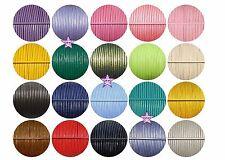 20 metros cordón cuero 2mm lote 1 metro x color abalorios bisutería joyería