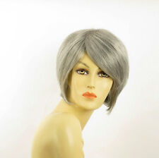 Short Wig for women gray ref: FRANE 51 PERUK