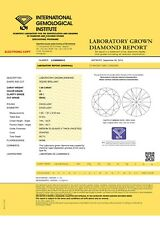 1.6 CT Round G VS1 Lab Grown Diamond IGI Certfied