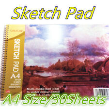A4 Art/Artist Sketchbook/Sketch Pad Watercolour Paper Journal For Drawing Craft