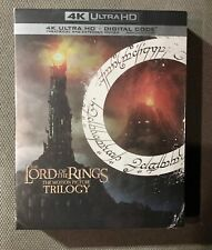 The Lord Of The Rings Trilogy. 4K Uhd & Digital. 9 Discs. Brand New & Sealed.