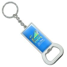 Gulf Stream Outfitters Yellowfin Fish Rectangle Metal Bottle Opener Keychain