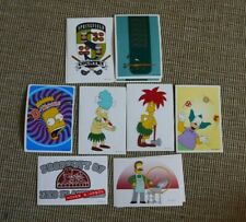 The Simpsons - Panini 2000 collection -  Simpson mixed cards