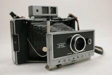 Vintage Polaroid Automatic 250 Land Camera With Flash Case & Manuals