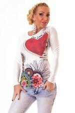 Mehrfarbige klassische Damen-Shirts keine Mehrstückpackung