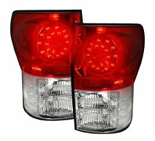 Recon 264188RD Toyota Tundra 2007-2013 LED Taillights Red Lens