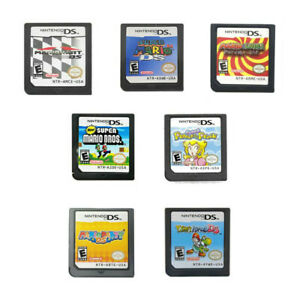 Mario Kart Super Mario 64 Mario Party Nintendo Game Card for NDSL/NDSI/3DS/3DSXL