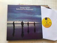 Echo and The Bunnymen Heaven Up Here LP '81 usa original sire vinyl srk3569 !!
