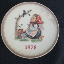 Goebel Hummel Annual Plate 1978 Happy Pastimes