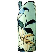 Silhouette d'art Vases - Hokusai Lilies