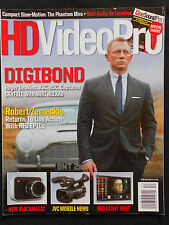 HD VIDEO PRO MAGAZINE DIGIBOND JAMES BOND DANIEL CRAIG SKYFALL