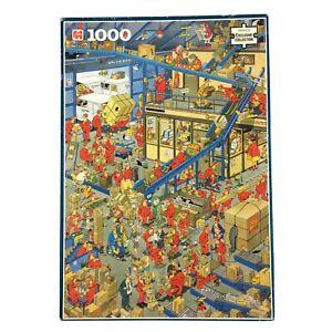 The Post Office Jigsaw Puzzle 1000 Jan Van Haasteren Humour Parcel Mail Jumbo Fu