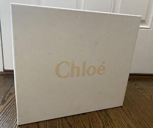 "Chloe Large Empty Shoe Box W Card 13.5""x12.5""x6"""