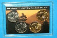 USA Westward  Journey Nickel Series 2005 4 Coins in Case