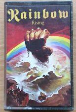 RAINBOW RISING CASSETTE TAPE. CLASSIC HEAVY ROCK. RITCHIE BLACKMORE. 1976.
