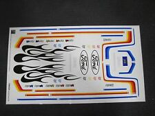 HPI Decal Sheet Ford F150 Flames Stripes Logo Tamiya Kyosho Associated Truck
