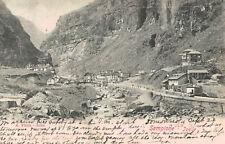 Sempione Iselle,Italy,Semplon Pass,Village,Used,Italian Stamp,1902